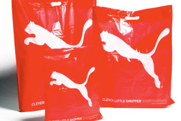 'Clever Little Shopper' - 100% biodegradable bags from Puma