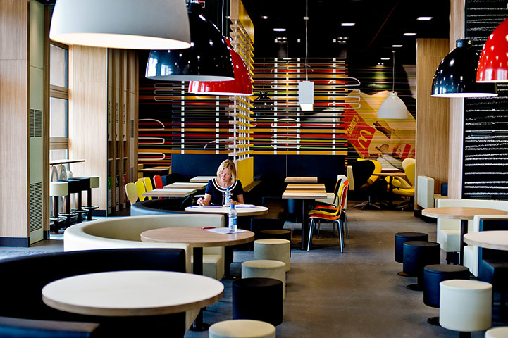 mcdonalds wishes to rework on its restaurant interiors essay
