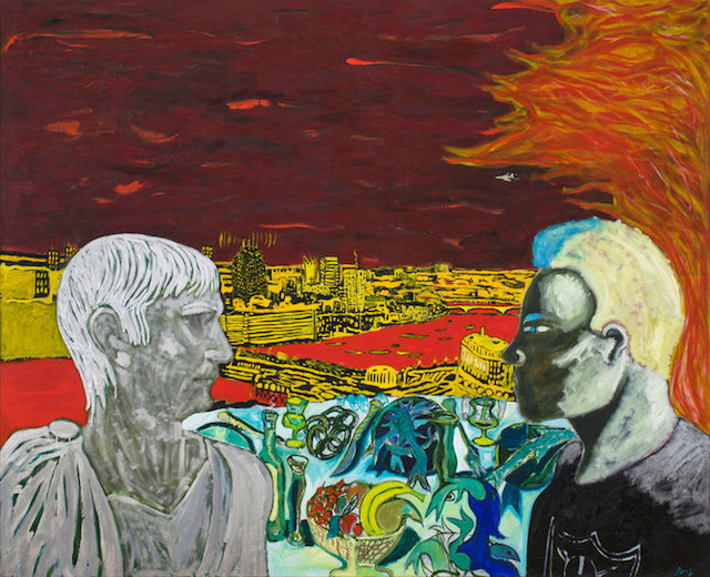 Peter Doig Contemplating Culture