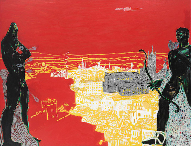 Peter Doig Red Sienna
