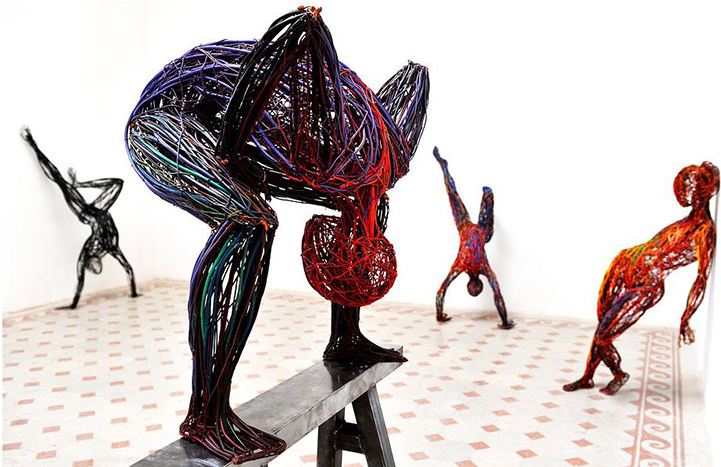 Judit Rita​ Rabóczky - Wire Sculptures_01