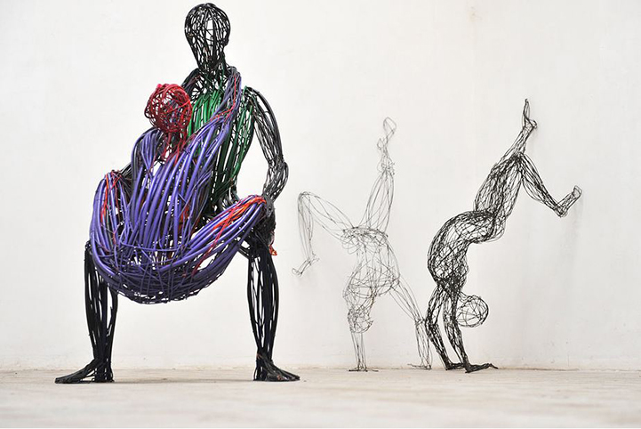 Judit Rita​ Rabóczky - Wire Sculptures_04
