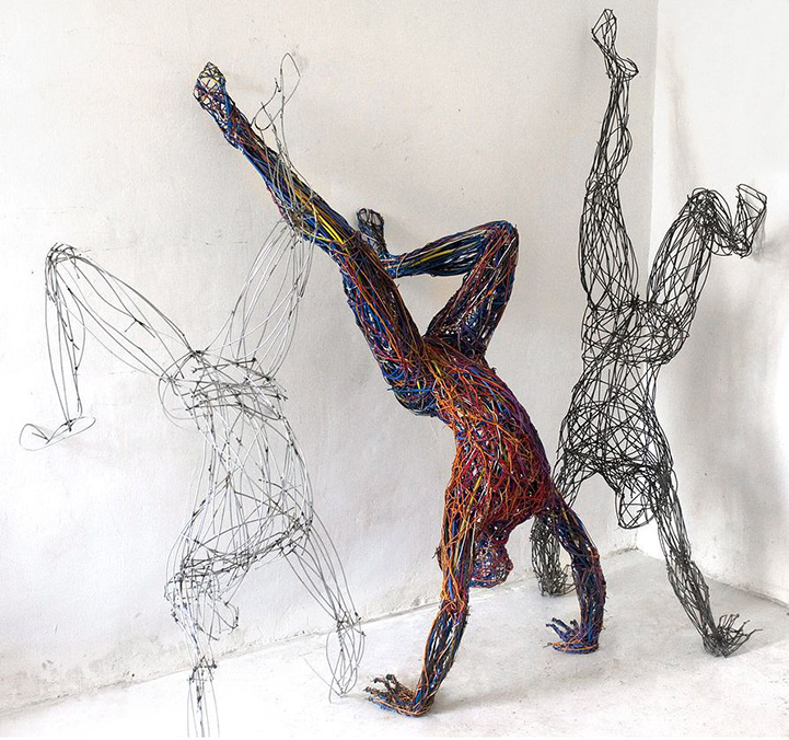 Judit Rita​ Rabóczky - Wire Sculptures_05