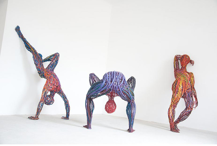 Judit Rita​ Rabóczky - Wire Sculptures_06