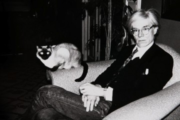 Artists and their Cats_Andy Warhol