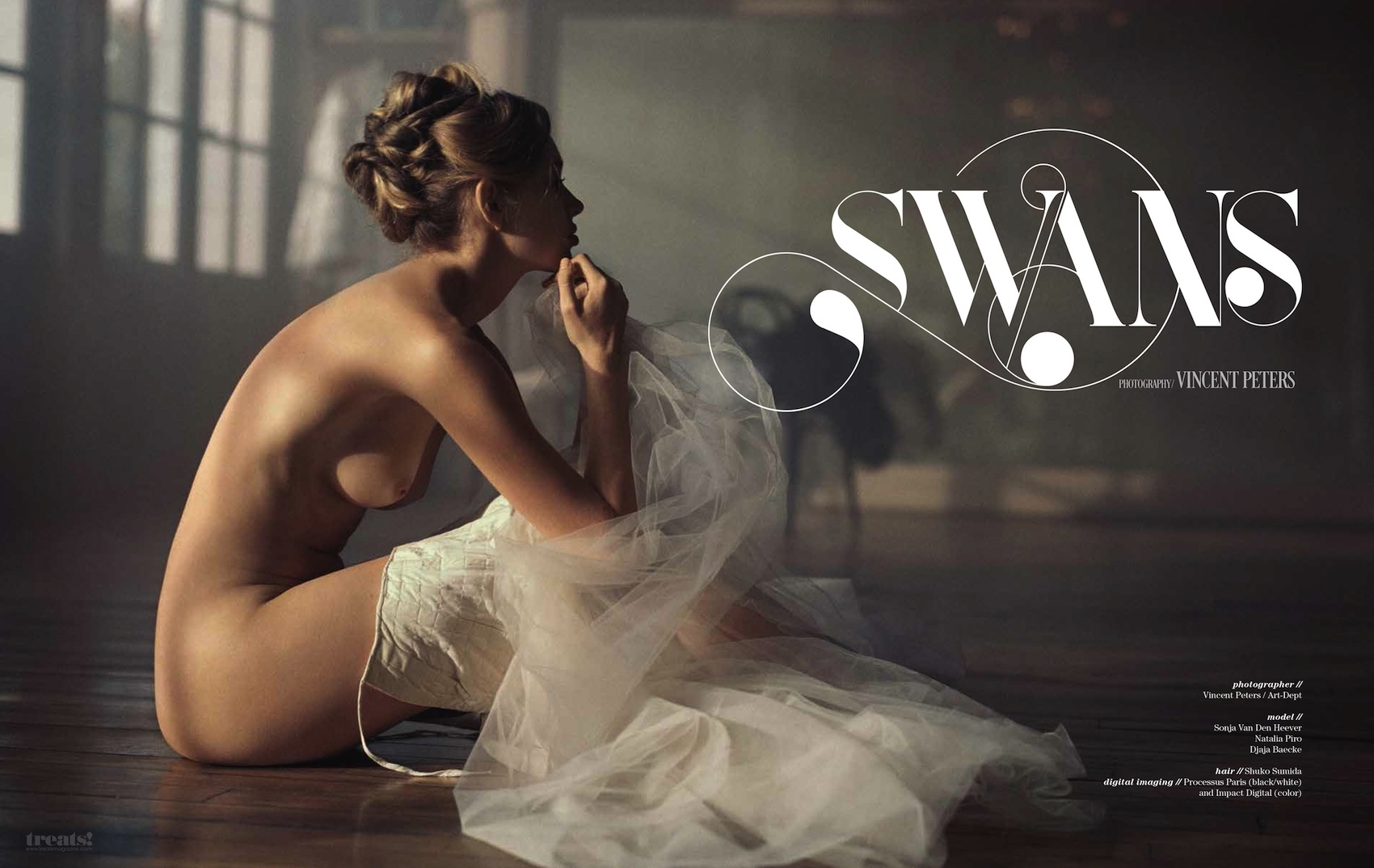 Vincent Peters Swans Treats Magazine_00
