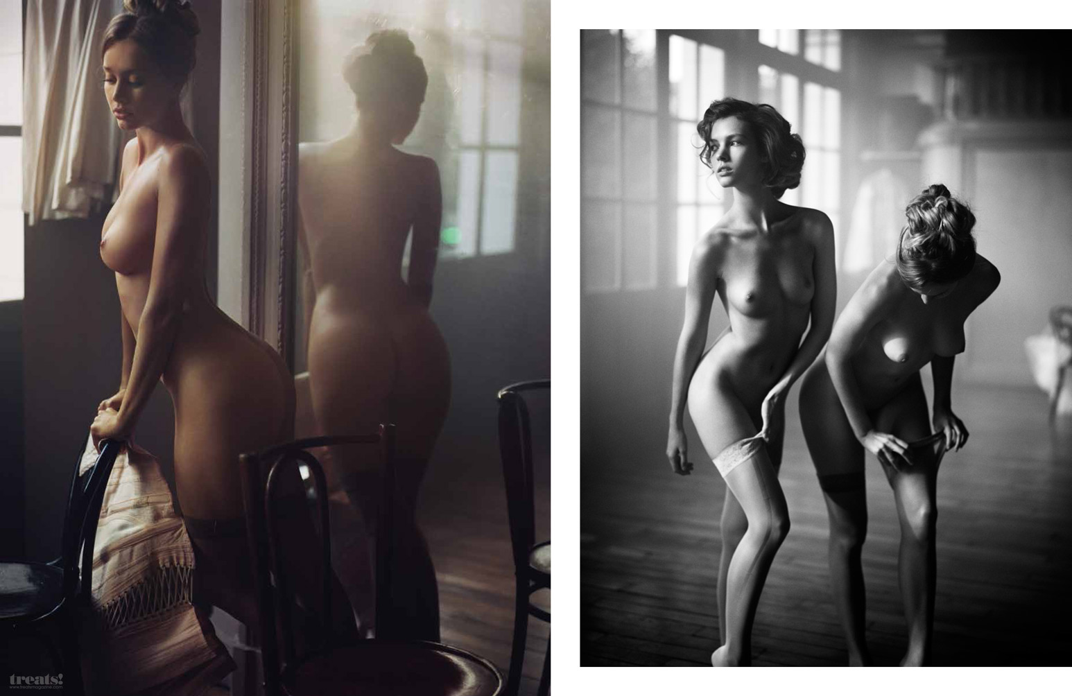Vincent Peters Swans Treats Magazine_05