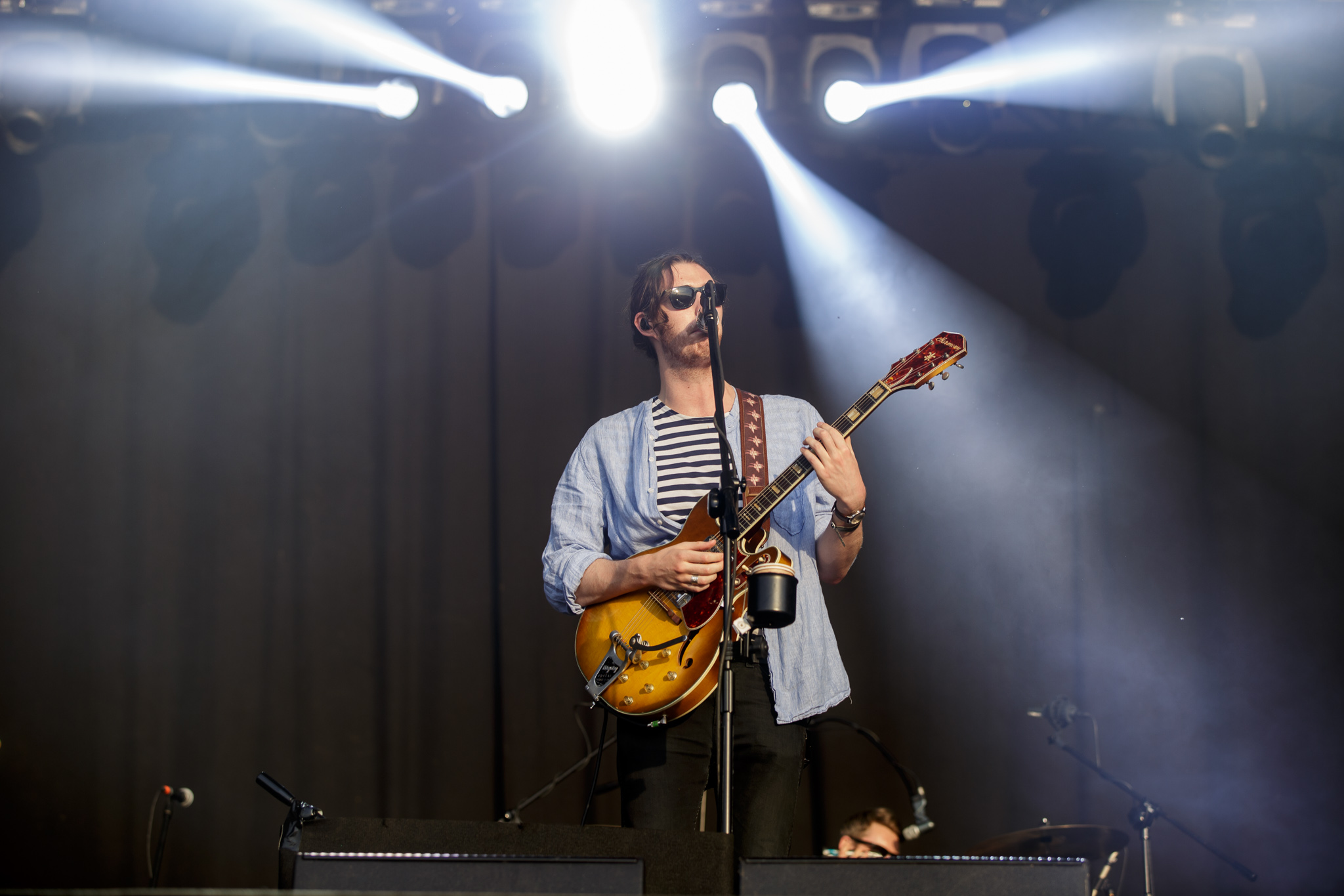Hozier perform on the final day of Poland's Open'er Festival - © M.Murawski_01