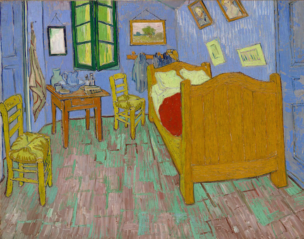 Van Gogh_The Bedroom_AirBnB_culture and life_00