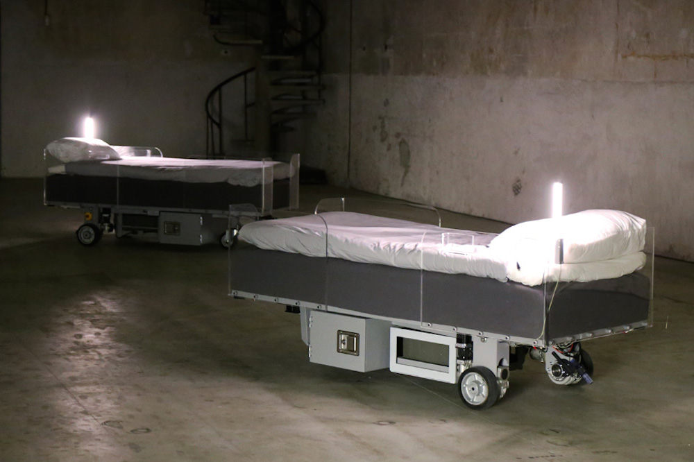 Carsten-Holler-Doubt-exhibition-two roaming beds-01