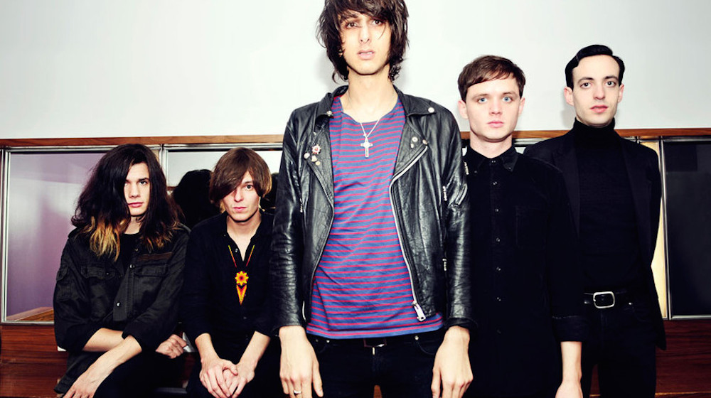 The Horrors backstage in the 02 Dublin, Ireland 02/03/2012